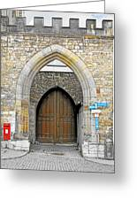 Weimar - Unesco World Heritage Site Greeting Card by Christine Till