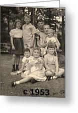 Weiner Cousins C 1953 Greeting Card
