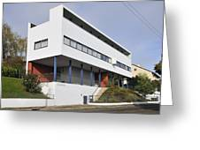 Weissenhof Settlement - Le Corbusier Building Greeting Card