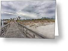 Welcome To Bald Head Island Greeting Card