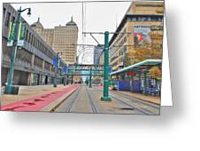 Welcome To Dt Buffalo Greeting Card