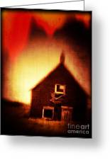 Welcome To Hell House Greeting Card