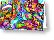 Welcome To My World Triptych Horizontal Greeting Card