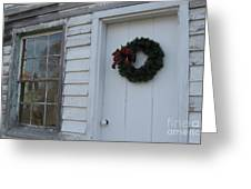 Welcoming Wreath  Greeting Card
