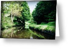 Welsh Canal Dream Greeting Card