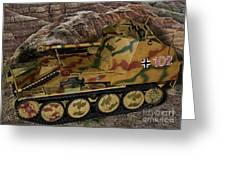 Wespe 105 Mm Self-propelled Gun Greeting Card