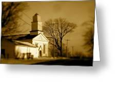 West Barre Church Greeting Card
