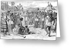 West Indies: Emancipation Greeting Card by Granger