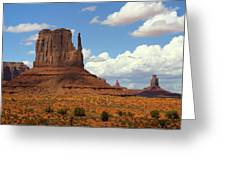 West Mitten Butte Greeting Card