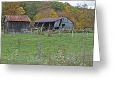 West Virginia Barn 3211 Greeting Card