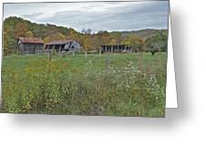 West Virginia Barn 3212 Greeting Card