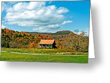 West Virginia Homestead Greeting Card