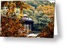 West Virginia Morn Greeting Card