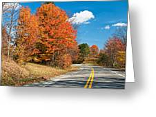 West Virginia Wandering 4 Greeting Card