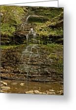 West Virginia Waterfall Greeting Card