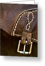 Western Chaps Detail Greeting Card