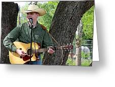 Western Guitar Greeting Card