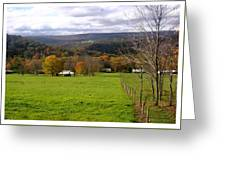 Western Maryland Fall Greeting Card