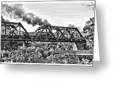 Western Maryland Railroad Greeting Card