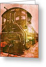 Western Railroad In Middletown Pennsylvania Greeting Card by Kevyn Bashore