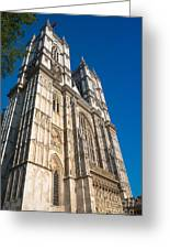 Westminster Abbey London Greeting Card