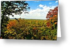 Weston Bend Fall Colors Greeting Card