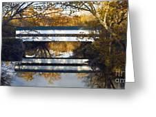 Westport Covered Bridge - D007831a Greeting Card by Daniel Dempster