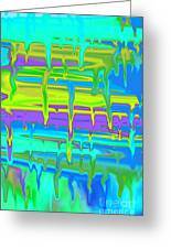 Wet Drippy Paint Greeting Card