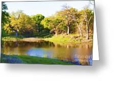 Wetland Serenity Greeting Card