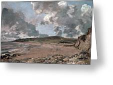 Weymouth Bay With Jordan Hill Greeting Card by John Constable