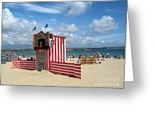 Weymouth Punch And Judy 3 Greeting Card