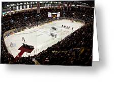 Wfcu Centre Greeting Card