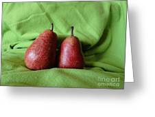 What A Pear Greeting Card