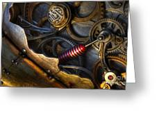 What Gear Am I In You Might Ask Greeting Card by Bob Christopher