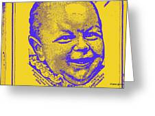 what is so funny big ears IV Greeting Card