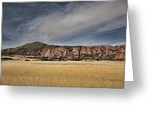 Wheatfield Zion National Park Greeting Card