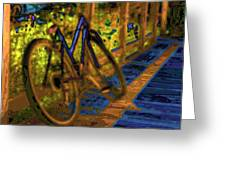 Wheels At Rest Greeting Card