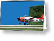 Wheels Up Greeting Card