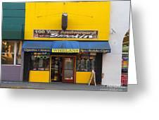 Whelans Smoke Shop On Bancroft Way In Berkeley California  . 7d10168 Greeting Card