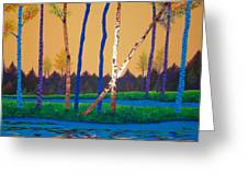 When Autumn Leaves Greeting Card