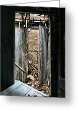 When One Door Closes Greeting Card by JC Findley