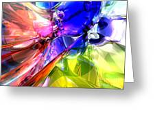 When Rainbows Collide Greeting Card