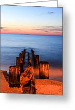 While You Were Sleeping Greeting Card