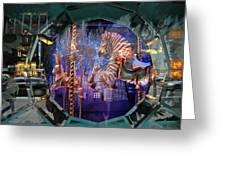 Tiffany's Carousel Greeting Card