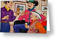 Whiskey Advertisement Greeting Card