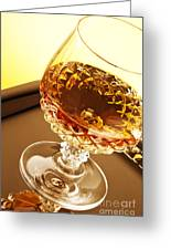 Whiskey In Glass Greeting Card