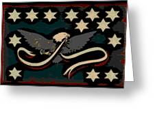 Whiskey Rebellion Flag Greeting Card