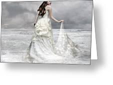 Whispered Waves Greeting Card