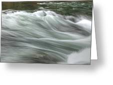 Whisping Water Greeting Card