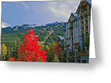 Whistler Red Greeting Card